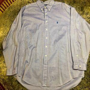Men's blue Polo Ralph Lauren Yarmouth oxford shirt